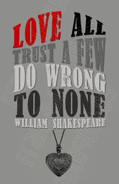Great Shakespeare Quote