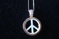 Detalhe Colar Símbolo da Paz Cod 254 SI