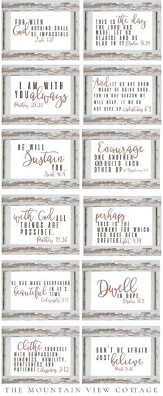 100+ best free farmhouse printables to spruce up your home decor - collection by craft-mart - bible verses printables #modernfarmhousedecor #freefarmhouseprintables