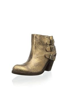 Schutz Women's Sher Ankle Bootie (Ouro Velho)