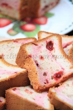 masam manis: RASPBERRY MARBLE CHIFFON CAKE Hokkaido Cake, Ogura Cake, Cotton Cake, Chiffon Cake, Sponge Cake, Confectionery, Raspberry, Bakery, Ice Cream