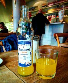 Mal kein Wein. Dafür #limonade aus Frankreich.