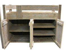 Halfhoogslaper Steigerhout Zitje : Steigerhouten hoogslaper edwin home app bunk bed