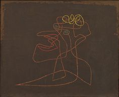 Paul Klee.Or The Mocked Mocker. 1930. Oil on canvas.  Gift of J. B. Neumann. 637.1939. Painting and Sculpture