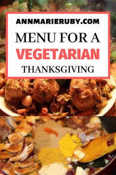 Are you looking for vegetarian Thanksgiving meals and perfect menu? Read this article to find the perfect vegetarian menu for you, your family, and friends! Vegetarian Thanksgiving Menu, Thanksgiving For Two, Vegetarian Meal Prep, Vegetarian Recipes Easy, Thanksgiving Desserts, Friends Thanksgiving, Going Vegetarian, Veg Recipes, Christmas Desserts