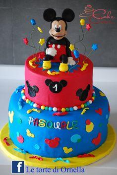 Mickey mouse cake, topolino