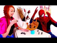 Spiderman vs Joker vs Frozen Anna! Spiderman Gets Hypnotized   Funny Superhero Movie in Real Life Spiderman vs Joker vs Frozen Anna! Spiderman Gets Hypnotized   Funny Superhero Movie in Real Life Spider-Man is a fictional superhero appearing in American comic books published by Marvel Comics existing in its shared universe. Spider-Man's creators gave him super strength and agility the ability to cling to most surfaces shoot spider-webs using wrist-mounted devices of his own invention which…