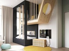 Totally Awesome Kid's Room Ideas You'll Feel like Redecorating - Oriel D. Totally Awesome Kid's Room Ideas You'll Feel like Redecorating - Baby Room Decor, Bedroom Decor, Bedroom Curtains, Wood Bedroom, Bedroom Ideas, Design Bedroom, Curtains Childrens Room, Kids Room Curtains, Boys Bedroom Furniture