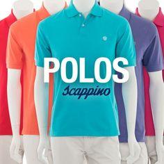 ¿Ya te diste una vuelta por #Scappino? Tienen polos de colores para que te veas increíble esta primavera.