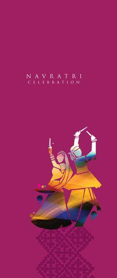 Navratri invite card 2013 on Behance