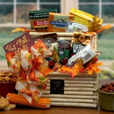Spreesy is Joining the CommentSold Family! Fall Gift Baskets, Halloween Gift Baskets, Themed Gift Baskets, Raffle Baskets, Halloween Gifts, Beer Basket, Fall Snacks, Auction Baskets, Fall Gifts