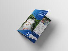 Diseño de díptico para la actividad anual del Descenso do Ulla en piraguas. Organizado por los concellos de Boqueixón, Vedra y Vila de Cruces #Diseño #Diptico #DiseñoGalicia #Yeti #4BajoCero #Publicidad