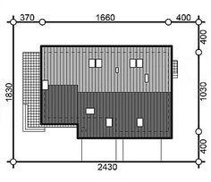 Usytuowanie projektu Murator M210 Jasna przestrzeń na działce 20 M2, Lockers, Locker Storage, Home Decor, Homemade Home Decor, Safe Deposit Box, Rocker Chic, Closets, Interior Design