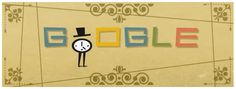 Excellent animated Google Doodle 5/8/13 celebrating graphic designer Saul Bass