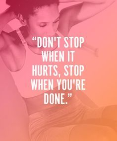 Muscles burning? That's where the change happens. #NeverGiveUp #youvsyou