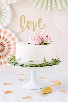 This fancy LOVE cake topper is perfect for any cake or flower arrangement. Made of acrylic its gold foil on one side and grey on the back. Fancy Cake Topper Love: Each stick is 7 wide LOVE is 4 tall Ships in a priority mail envelope for USA orders. Wedding Cake Toppers, Wedding Cakes, Orchid Wedding Cake, Purple Wedding, Love Cake Topper, Acrylic Cake Topper, Valentine Cake, Gold Cake, Wedding Cake Decorations