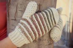 Free Crochet Mitt Pattern