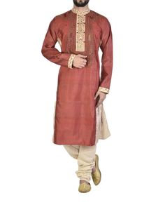 Pure silk sherwani  |  Shop now: www.thesecretlabel.com