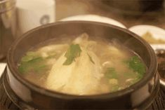 The smell of simmering broth after a long afternoon in the chilly autumn air.