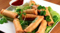 Vårruller Wok, Fresh Rolls, Hot Dog Buns, Tapas, Carrots, Appetizers, Bread, Snacks, Dishes