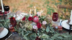 Tuscan - Inspired Fall Wedding Inspiration|Photographer: Brooke Ellen Photography