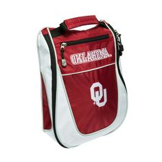 Team Golf University of Oklahoma Golf Shoe Bag - Golf Equipment, Collegiate Golf Products at Academy Sports
