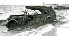 Sd.Kfz.21 Skoda superb 3000 German staff car abandoned during the retreat in Pomerania,March 1945