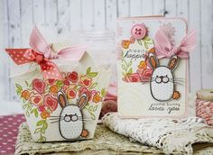 Easter Ensemble by Melissa Phillips for Papertrey Ink (February 2014)