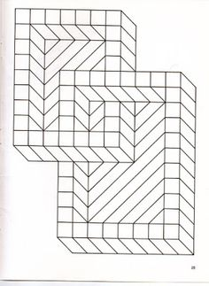 To Print This Free Coloring Page Op Art Jean Larcher 4 Click On The Printer Icon At Right