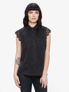 Heart Noir Short Sleeve Shirt