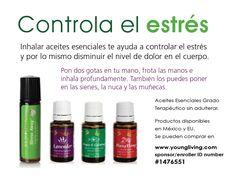 Aceites esenciales para controlar el estrés