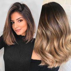 Natural Ombre Hair, Long Ombre Hair, Hair Blond, Brown Hair, Caramel Hair, Fall Hair, Balayage Hair, Hair Beauty, Long Hair Styles
