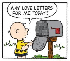 Any Love Letters for me today?