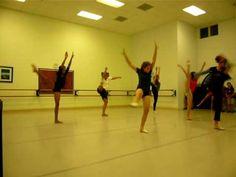 Jazz dance class combo
