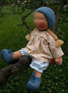 Cute waldorf doll clothes patterns