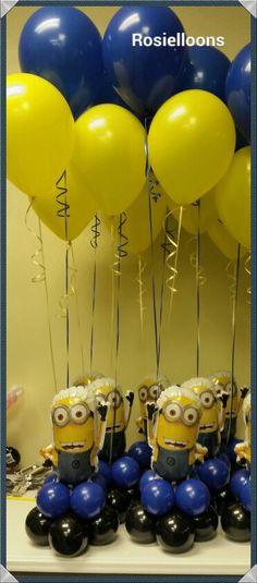 Minions on pinterest minion birthday parties balloon
