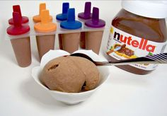 Nothing could be greater than Nutella ice-cream in Summer.