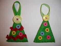 How to make Felt Christmas ornaments easily | Light Decorating Ideas