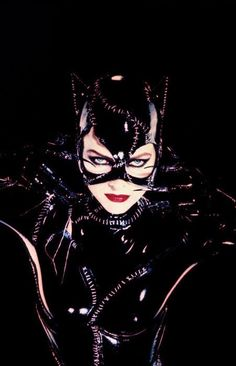 "Catwoman (1992) - Michelle Pfeiffer - ""Batman Returns"" Selina Kyle was a lonely, frustrated woman pushed over the edge into obsession and crime after her boss, tycoon Max Shreck, tried to kill her to keep her from revealing his plot to build a power plant that would steal Gotham's electricity."