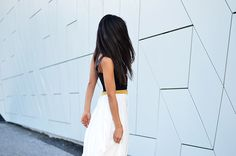 FARAH WITH SS'15 WHITE SKIRT