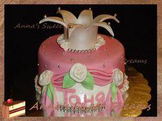 торт для маленькой принцессы princess crown cake tutorial
