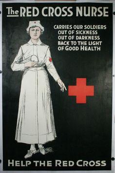 Red Cross WW1 poster