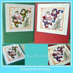 Snowman Family   Flickr - Photo Sharing!