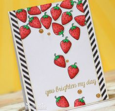 Lawn Fawn - Summertime Charm _ super gorgeous card by Charlene at Charlene's Studio Ink {pin of the day}
