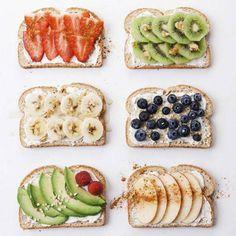 Instaphéno : le toast aux fruits