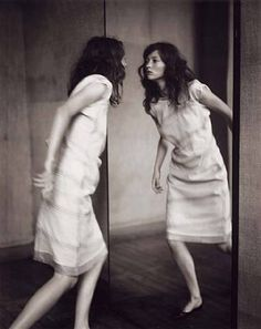 Paolo Roversi, Audrey through the Mirror, 1998