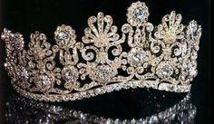 Rose topaz and diamond tiara of Princess Marie of Wurttemberg (1857-1882) - Google Search