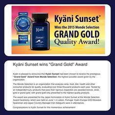 Way to go #Kyani! Find out more about this product at juliannlynn.kyaniviral.com/sunset #LowersCholesterol #BestSleepEver #KyaniLiving