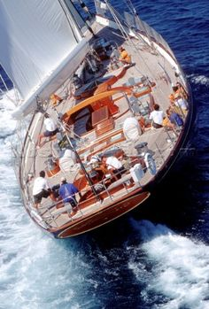 Classic yacht 'Antonisa' by Hodgdon Yachts! East Boothbay, Maine