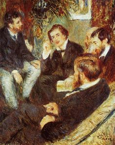 The Artist's Studio, Rue Saint-Georges Pierre Auguste Renoir, 1876